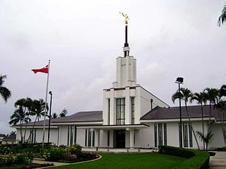 The Church of Jesus Christ of Latter-day Saints in Tonga church in Tonga