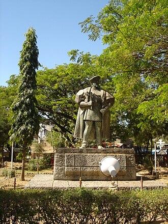 Nuno da Cunha - Statue of D. Nuno da Cunha in Diu