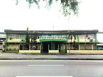 Nutrition Foundation of the Philippines, Inc. - Dr. Juan Salcedo, Jr. Building, located along E. Rodriguez, Sr. Avenue, Quezon City
