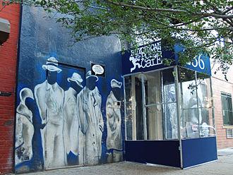 Nuyorican Poets Café - The Nuyorican Poets Cafe building on East 3rd Street in Alphabet City