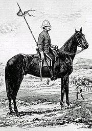 NWMP Lancer, 1875.