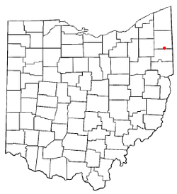 Location of Hilltop, Ohio