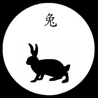 Zodiac rabbit, showing the tu (Tu ) character for rabbit OMBRE CHINOISE LIEVRE 2.jpg