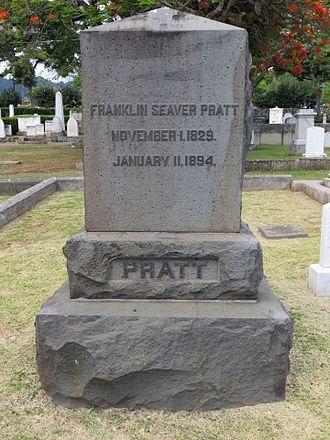 Franklin Seaver Pratt - Gravestone at Oahu Cemetery