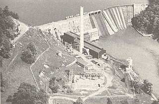 Ocoee Dam No. 1 place in Tennessee listed on National Register of Historic Places