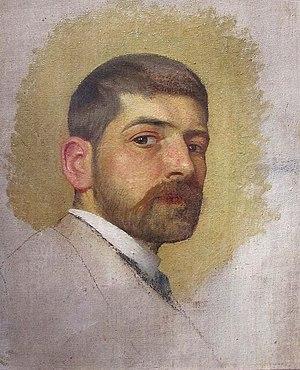 Octavian Smigelschi - Self-portrait