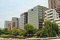 Office buildings in Otemon, Chuo-ku, Fukuoka, Japan 20170530.jpg