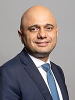 Sajid Javid Official portrait of Rt Hon Sajid Javid MP crop 2.jpg