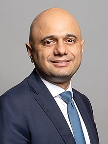 Official portrait of Rt Hon Sajid Javid MP crop 2.jpg