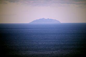 Munakata, Fukuoka - A view of Okinoshima Island, a World Heritage site
