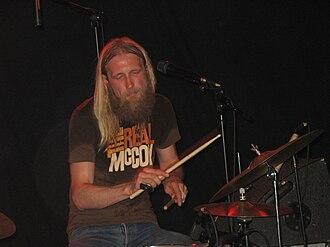Bigbang (Norwegian band) - Drummer Olaf Olsen in Kongsberg, April 2007