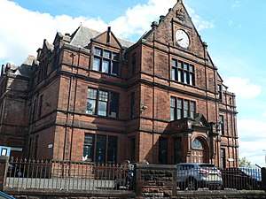 Kilmarnock Academy - Major consideration has been given to the future of the original listed building after the schools merger and move to the new site