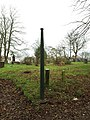 Old lamp post in St Johns churchyard, Wortley (geograph 6031490).jpg