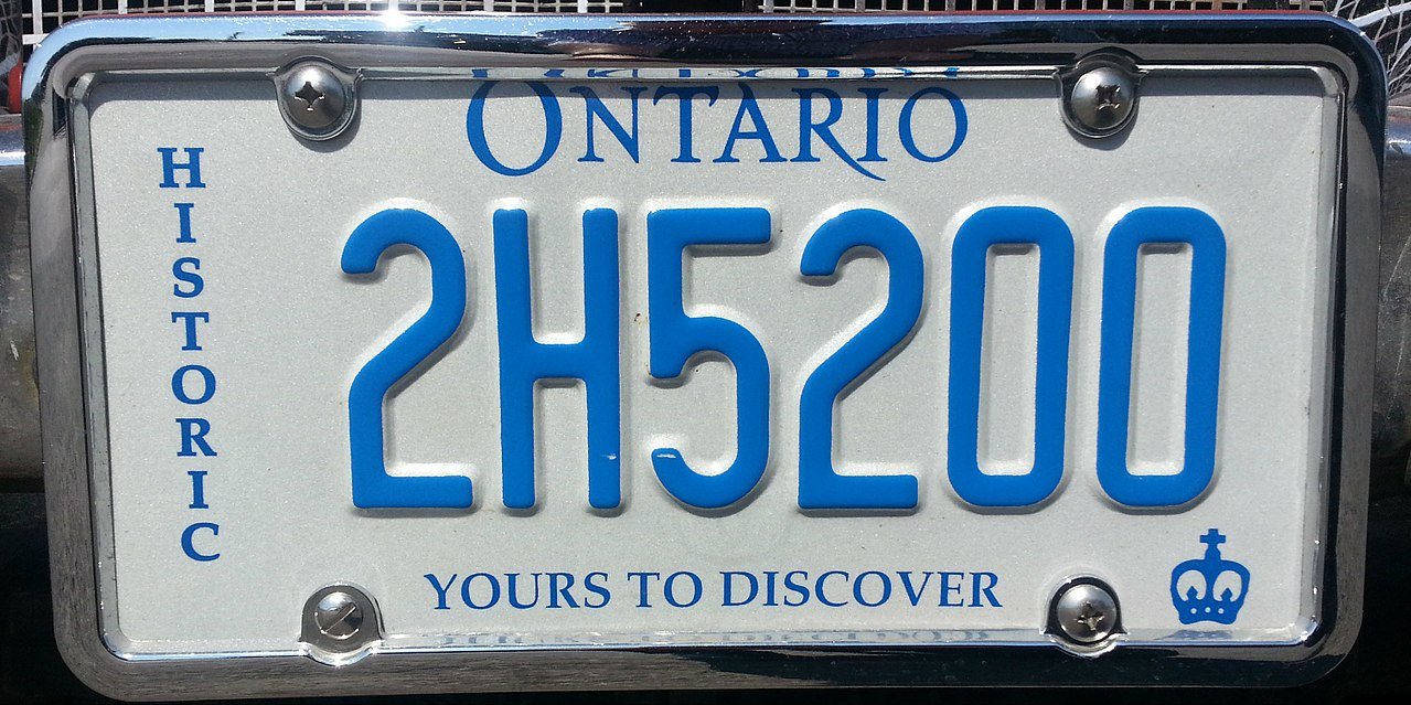 Vehicle registration plates of Ontario - Wikiwand
