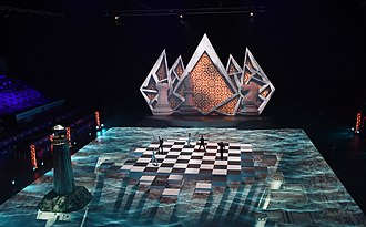 42nd Chess Olympiad - Fragment from the Opening ceremony