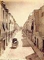 Oriola, carrer de la Corredera. Jean laurent 1870.jpg