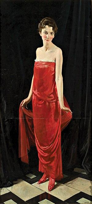 María Edwards - María Errázuriz by William Orpen, 1915