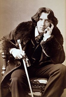 Oscar Wilde nel 1882