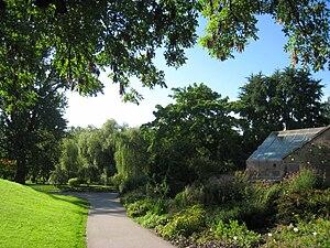 Tøyen Park - A section of the botanical garden