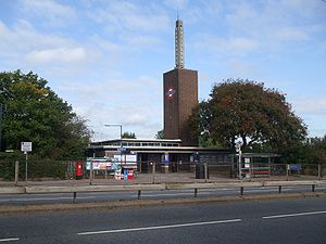 Osterley tube station - Image: Osterley station building 2