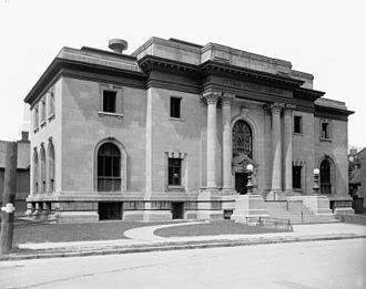 Ottawa Public Library - The original Ottawa Public library building, designed by Edgar Lewis Horwood (1903-5)