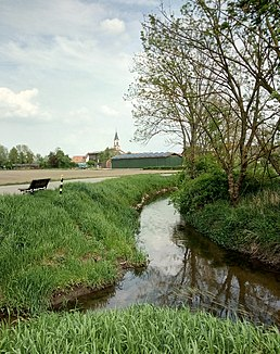 Otterbach near Neupotz, from the left the Wattbach