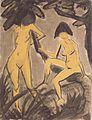 Otto Mueller - Zwei weibliche Akte am Baum.jpeg