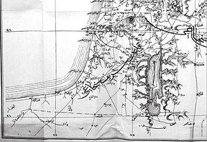 Mutasarrifate of Jerusalem - Image: Ottoman map of the Mutasarrifate of Jerusalem, from 1882 83 (1300 AH)