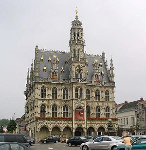 Town Hall of Oudenaarde, Belgium