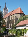 Our Lady of Hungary church from Jókai Street, Keszthely, 2016 Hungary.jpg