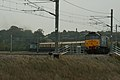 Over Hitchin East Junction, the 'Northern Belle' to Kings Lynn. - panoramio.jpg