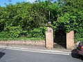 Over grown former entrance to Mills Grammar School - geograph.org.uk - 438420.jpg