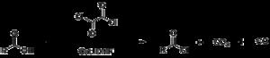 Oxalyl chloride - Image: Oxalyl chloride DMF catalyst