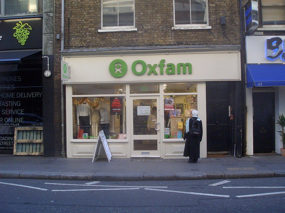 Oxfam shop on Drury Lane