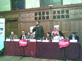 Oxford East (UK Parliament constituency) - Oxford East candidates in the 2010 general election at a climate change hustings.
