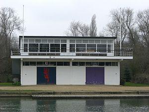 Balliol College Boat Club - Image: Oxford boathouse 7