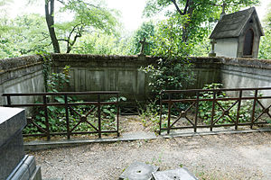 Maurice Vaussard - Grave at Père Lachaise Cemetery.