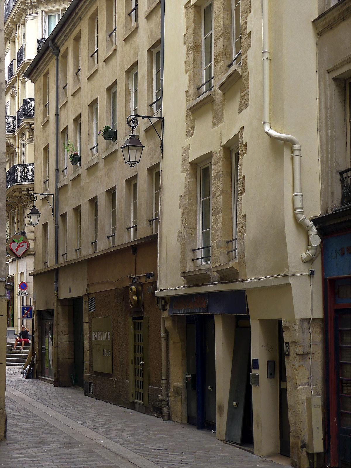 Rue Des Anglais Wikipédia