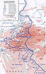 Wacht am Rhein—the German offensive, 16–25 December 1944