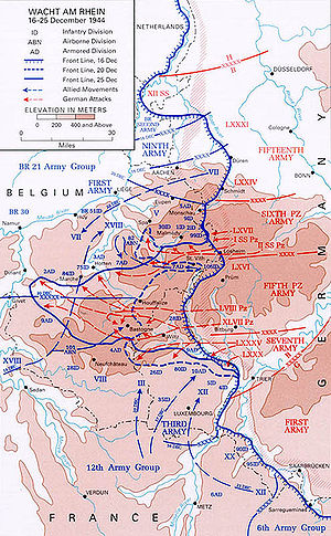 Battle of the Bulge - Wikipedia, the free encyclopedia