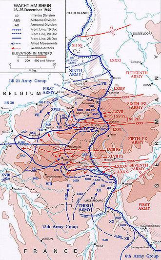 Наступление немецких войск в