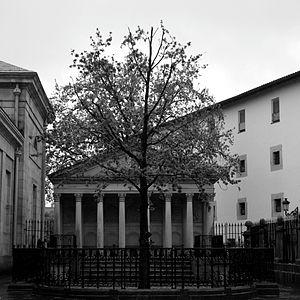 "Gernikako Arbola - The ""new tree""."