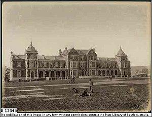 Prince Alfred College - Prince Alfred College, c.1879