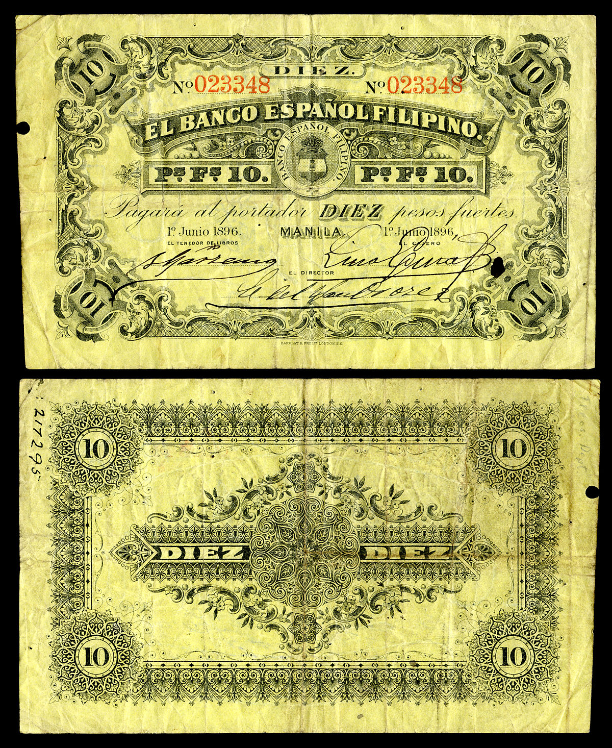 Japanese Generals Banknotes Of The Philippine Peso Wikipedia