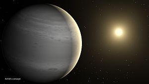 Helium planet - Helium planets would have a white or grey hue. (Artist's conception shown.)