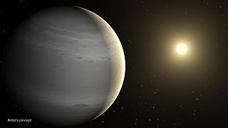 Helium planet A planet with a helium-dominated atmosphere