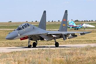 Sukhoi Su-30MKK - A People's Liberation Army Air Force Su-30MKK at Lipetsk Air Base