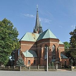 PL - Chorzelów - kościół Wszystkich Świętych - Kroton 001.jpg