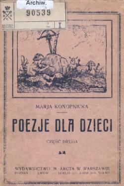 Poezje Dla Dzieciczęść Iicałość Wikiźródła Wolna Biblioteka