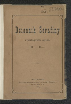 Dziennik Serafinycałość Wikiźródła Wolna Biblioteka